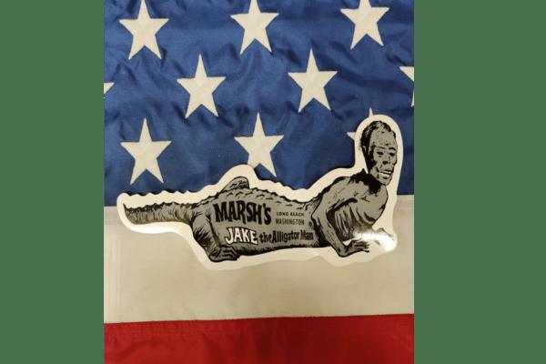 Marsh's Free Museum - Long Beach WA - Jake the Alligator Man