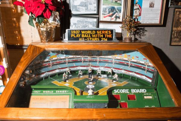 Marsh's Free Museum - Long Beach WA - Arcade Baseball Game